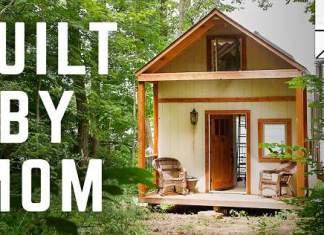 Enslig mor bygget dette huset helt selv - en drøm som gikk i oppfyllelse!