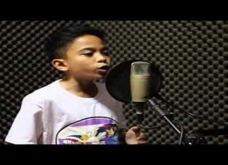 Jimlord Garcia er bare 12 år gammel.Men den lille gutten er allerede blitt en anerkjent sanger i Filippinene