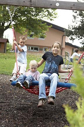 Die Kinder auf der Schaukel - Blogeintrag 17.10.07
