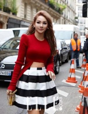 ouv8rc-l-610x610-lee+chaerin-cl-black+white-stripes-ballerina-kfashion-paris+fashion+week-ulzzang+fashion-cropped+sweater-skirt