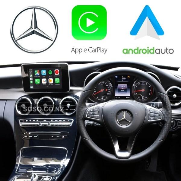 Auto Retrofit - Apple Carplay &Amp; Android Auto Retrofit Kit For Mercedes Ntg 5.0 5.1 Cla Cls Gle Gls