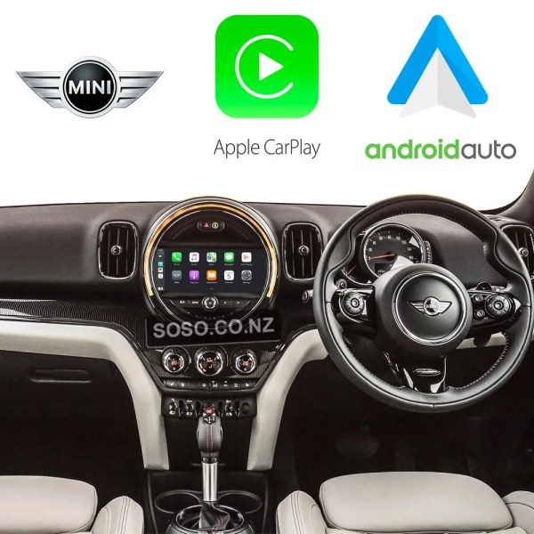 Auto Retrofit - Apple Carplay &Amp; Android Auto Retrofit Kit For Bmw Mini Nbt Evo 2016 - Now