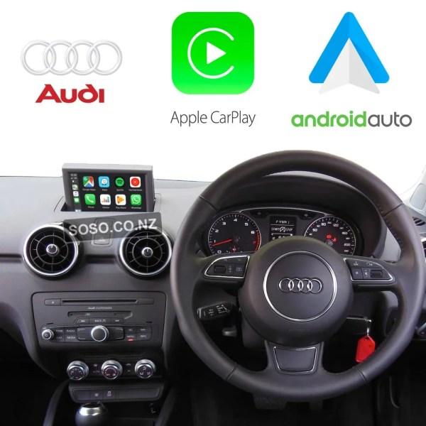 Auto Retrofit - Audi A1 S1 (2012-2018) Apple Carplay &Amp; Android Auto Retrofit Kit