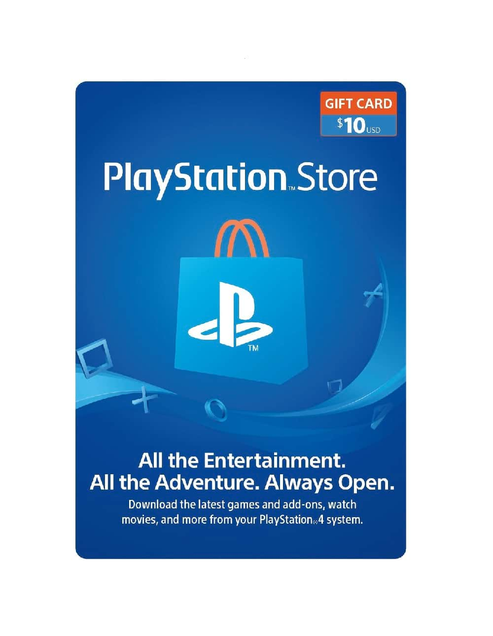 $10 Playstation Wallet Gift Card [Digital Code]