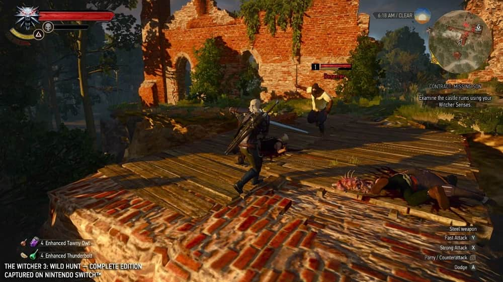 The Witcher 3 Wild Hunt Complete Edition Switch Screenshot04