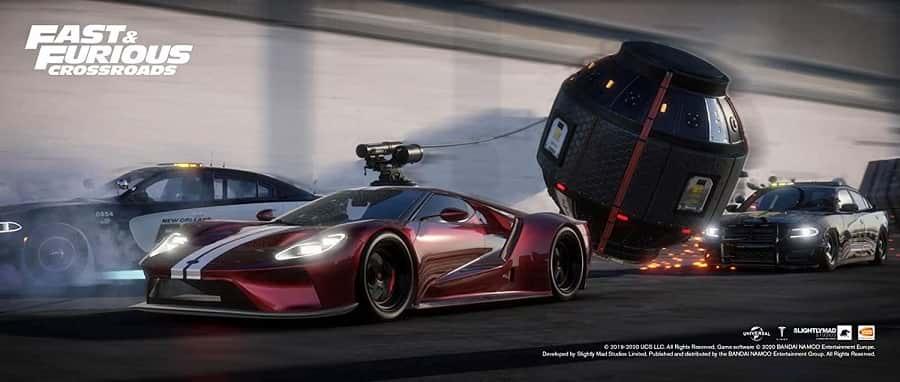 Fast &Amp; Furious Crossroads - Playstation 4