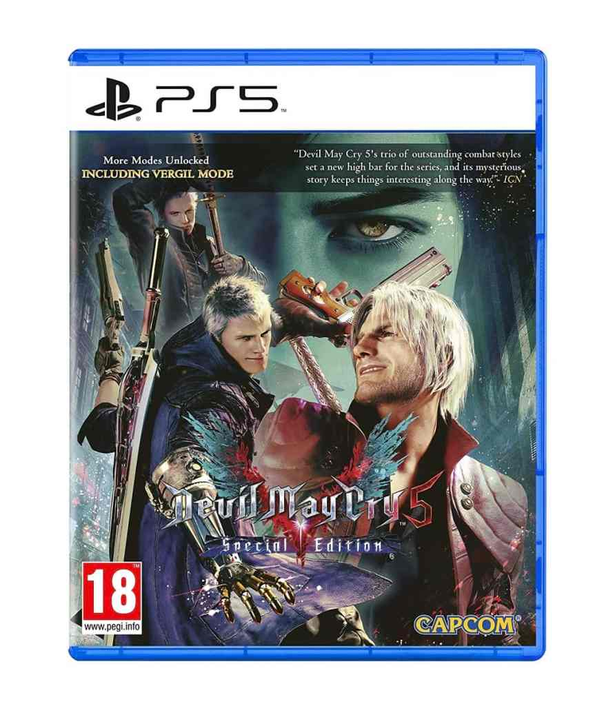 PS5 Devil May Cry 5 Special Edition