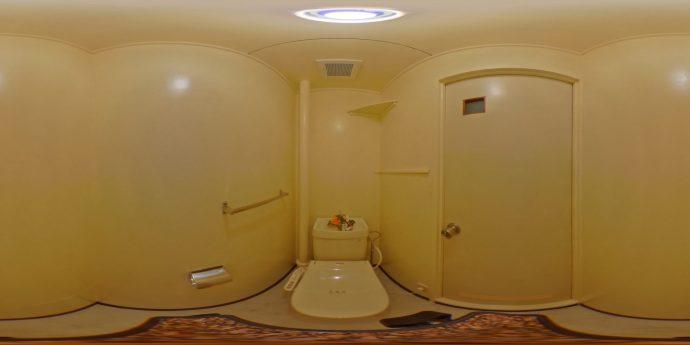 有田101:トイレ:360カメラ