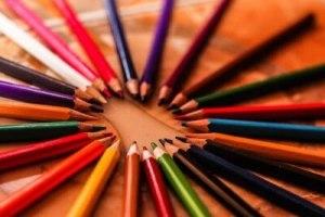 写真素材:色鉛筆
