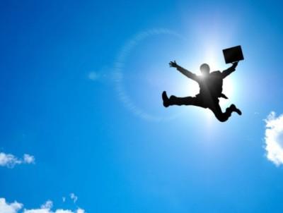 写真素材:飛ぶ:シルエット