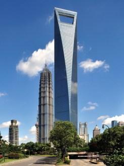 4-1. მსოფლიო საფინანსო ცენტრი, 492 მ, შანჰაი, ჩინეთი