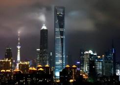 4-2. მსოფლიო საფინანსო ცენტრი, 492 მ, შანჰაი, ჩინეთი