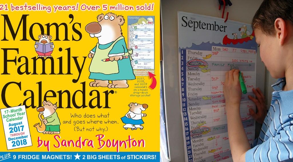 Boynton mom family calendar
