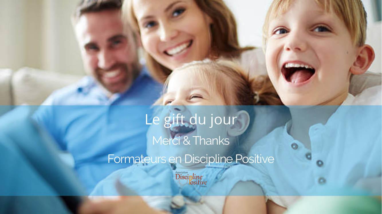 Bon Cadeau Discipline Positive