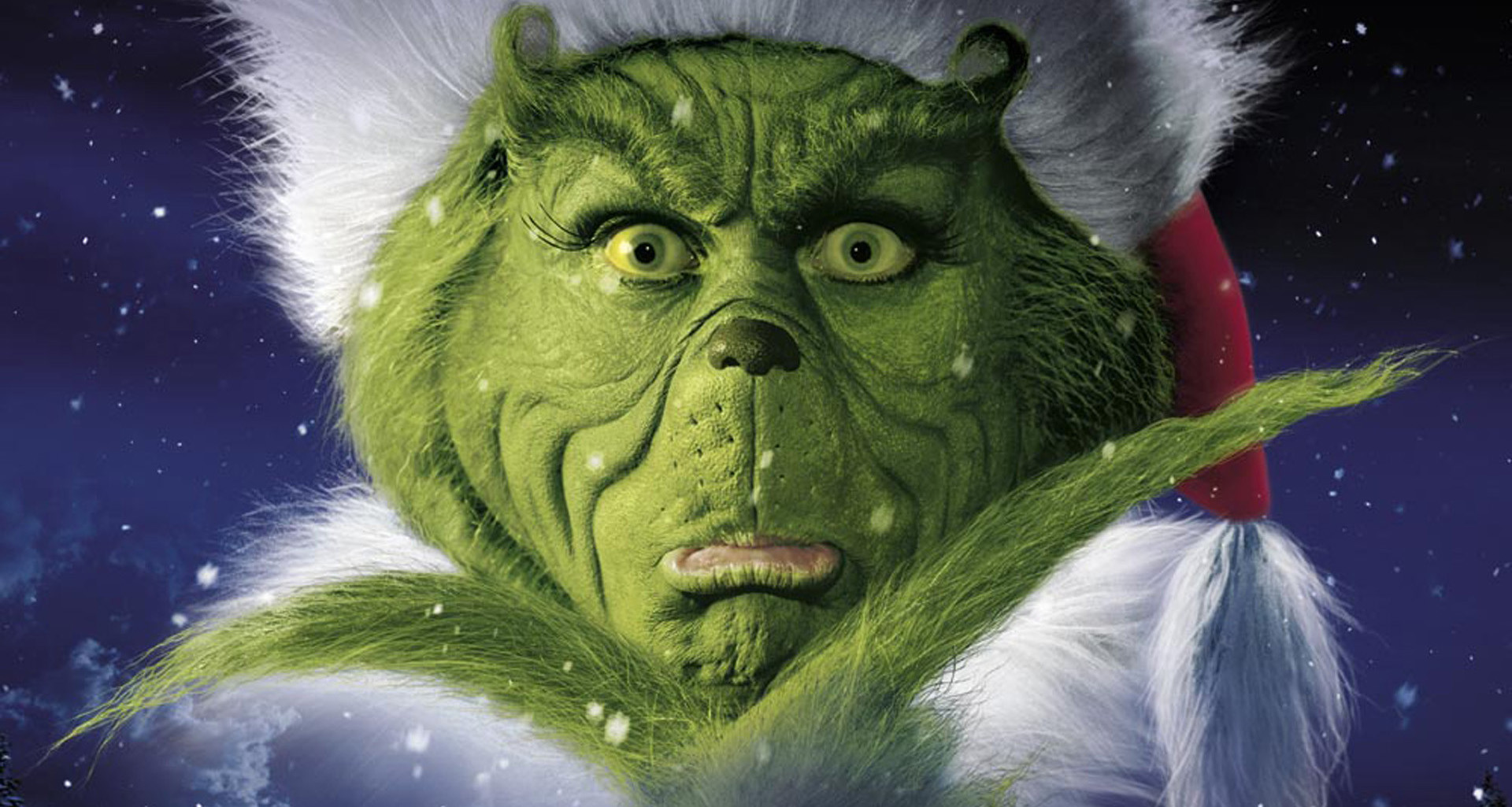 Frowning Grinch...like mom and dad?