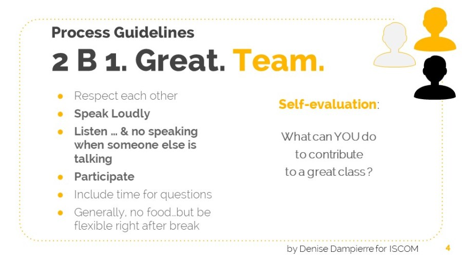Teamwork collaboration guidelines
