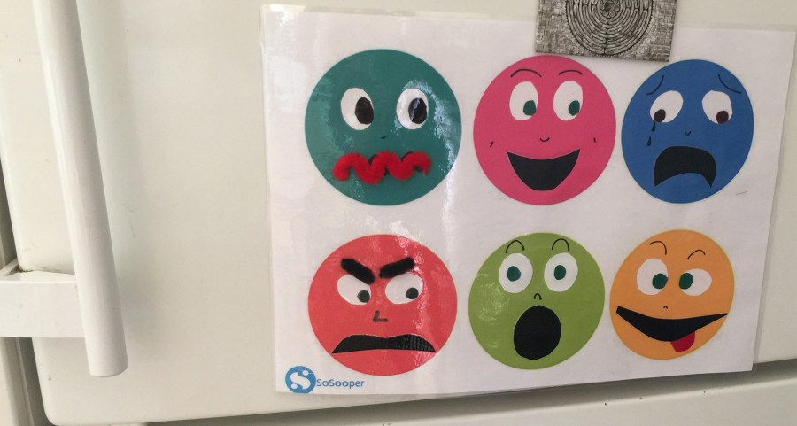 Family Emotions Chart home-made