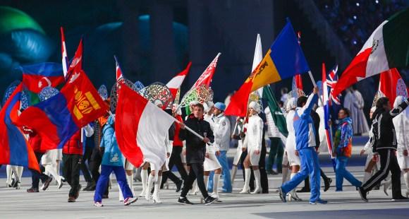 Olympians from many nations