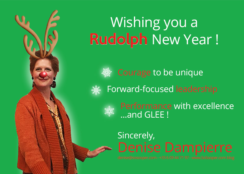 Happy New Year from Denise Dampierre