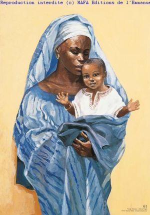 Jesus Mafa African Mary & Jesus