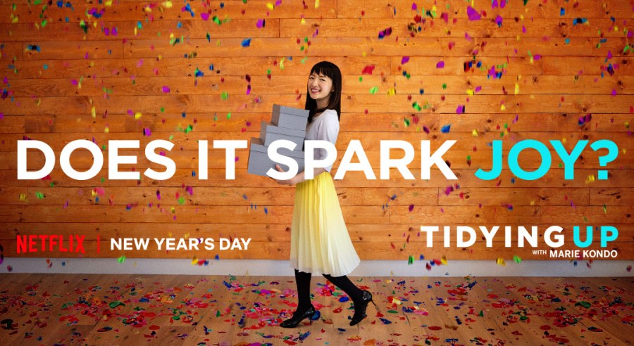 Tidy up and spark joy