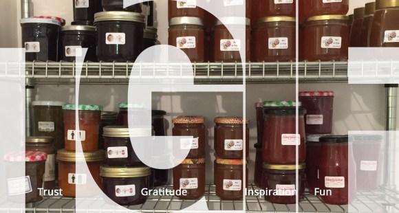TGIF - sooo much homemade jam
