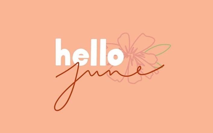 Hello June | 夏日伴隨著忽熱忽冷的六月