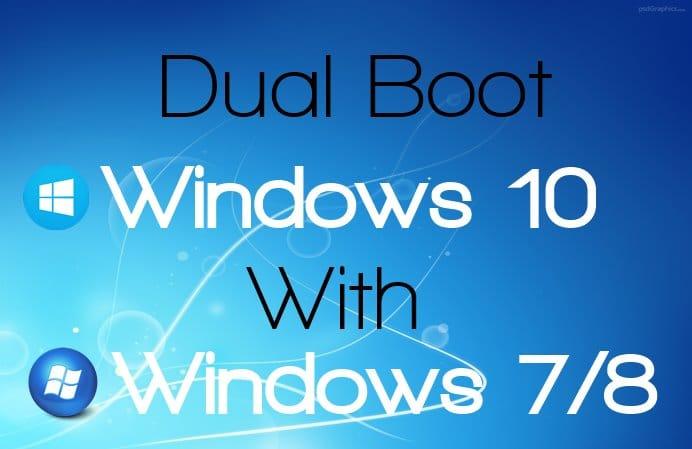 windows 10 comment l 39 installer en dual boot tutoriel complet sospc. Black Bedroom Furniture Sets. Home Design Ideas