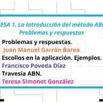 II Congreso Nacional ABN. Mesa 1. Problemas y respuestas.