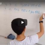 Vídeo tutorial: Casita (Centenas, Decenas y Unidades)