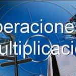 Vídeo tutorial: Operaciones 1 (Multiplicación por una cifra)