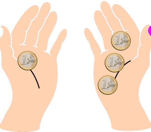 manos-un-euro-y-tres-euros