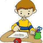 Escritura a la carta de Santillana: Letra P y M