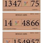 BINGO ABN: Cartones Resta Fase 5