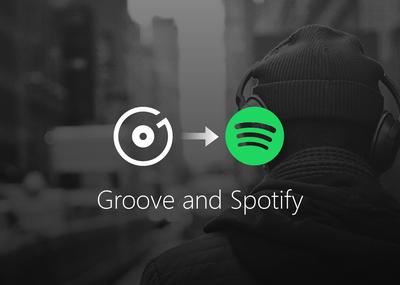 Microsoft reemplazará Groove Music por Spotify a finales de año