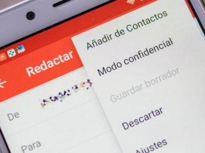 Modo confidencial: Así puedes enviar correos que se auto destruyen después de leerlos