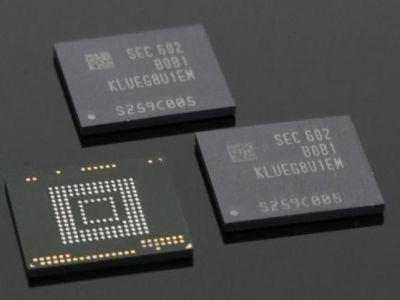 Samsung ya tiene listas sus memorias UFS 3.0 para los móviles de 2019