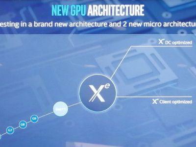 Intel venderá sus tarjetas gráficas bajo la marca XE