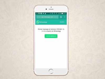 Cómo enviar mensajes de WhatsApp sin tener que agregar al contacto