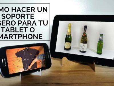 Cómo hacer un soporte casero para tablet o smartphone