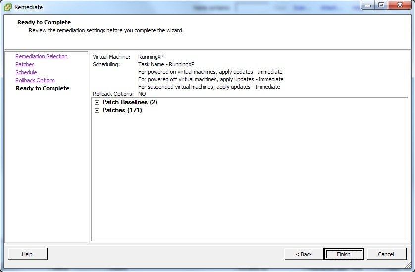 VMware Update manager – Updating VMs   SOSTechBlog com