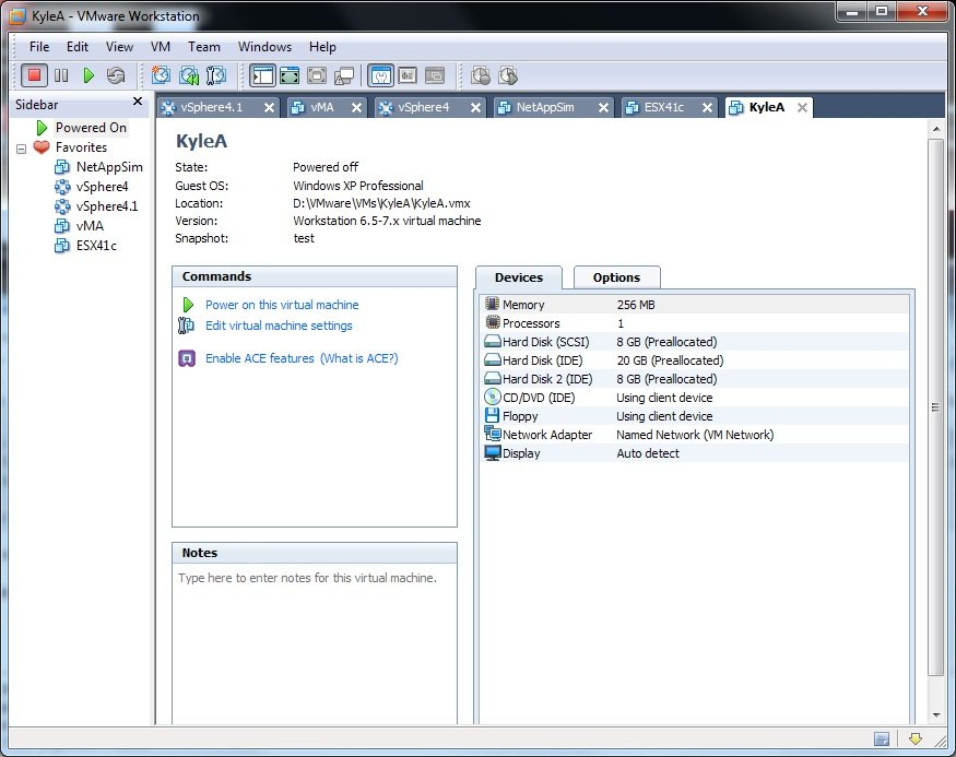 Moving VMs from ESX to Workstation | SOSTechBlog com