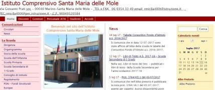 IC SANTA MARIA DELLE MOLE