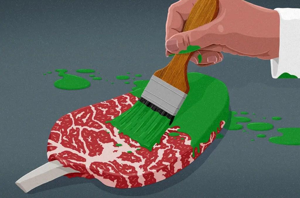 Un'ingannevole e impattante industria della carne da cancellare