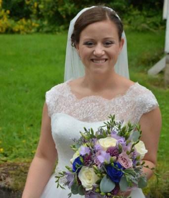 Brudebukett fra Søstra til Morten AS
