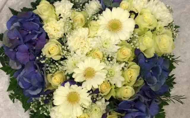 Hjerte til begravelse fra Søstra Til Morten