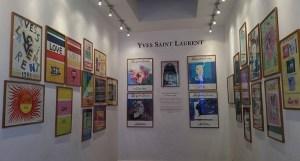 YSL art gallery