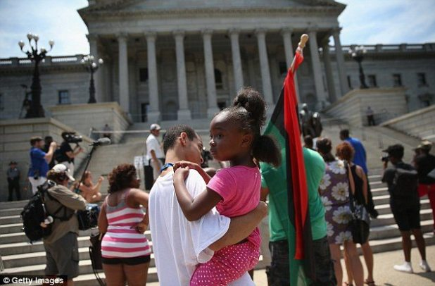 Justice for the next generation: People came out with their children to show why racial equality matters