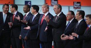 Donald Trump Stirs GOP Presidential Debate