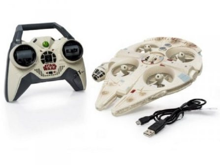 Disney Reveals Remote-Controlled Star Wars Millennium Falcon Drone